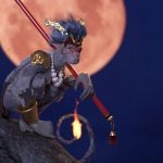 The Monkey King by Moonlight
