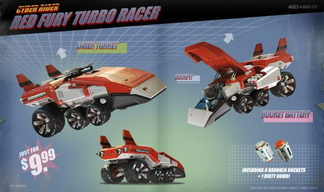 red fury racer