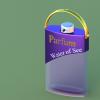 Visuel design d'un flacon de parfum