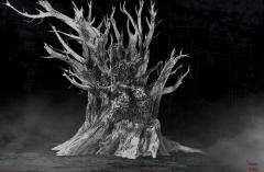 Concept art for dark fantasy movie