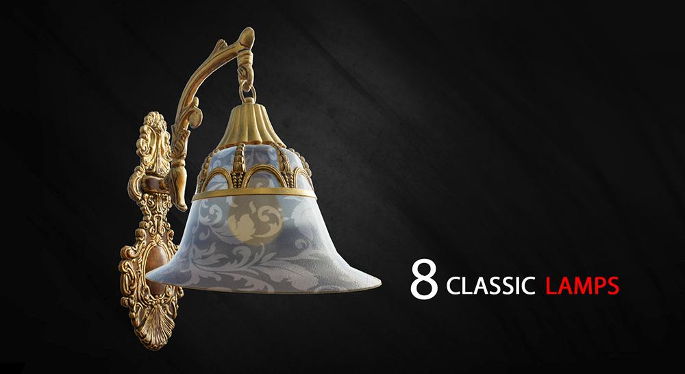 8 Classic Lamps, 4