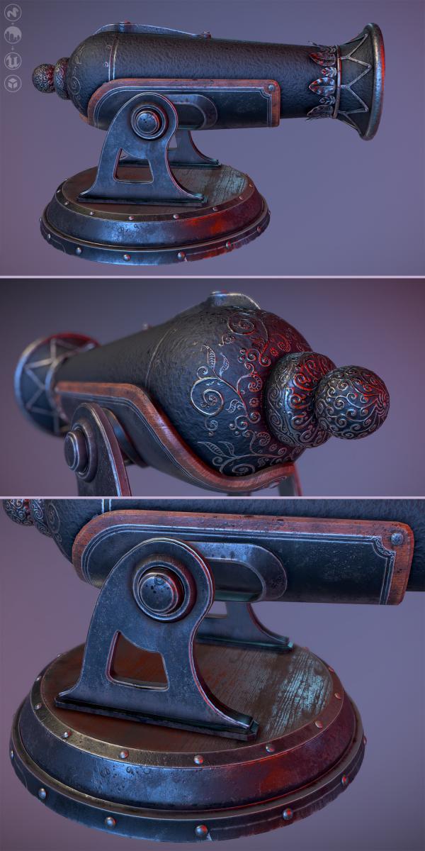 Fantasy cannon