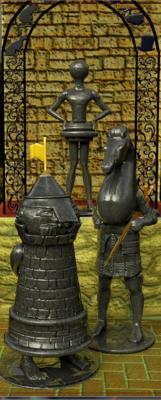 Rook,Knight & Pawn