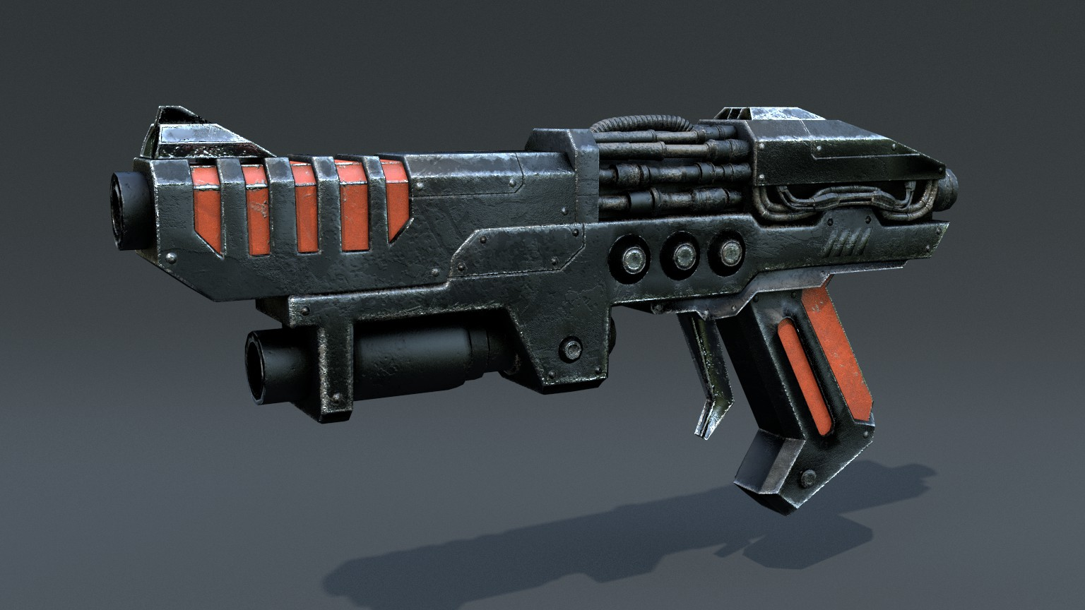 Sci Fi Gun Gallery Of Finished Works 3d Coat Forums