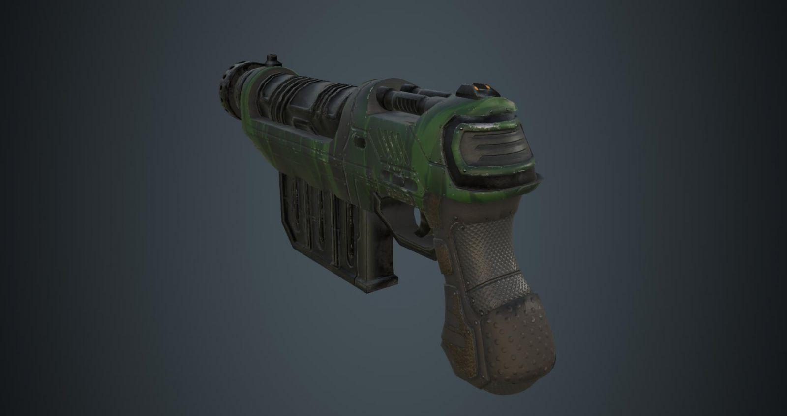 Sci Fi Gun 03