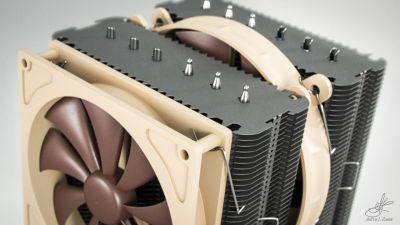 Noctua NH-D14 (detail shot)