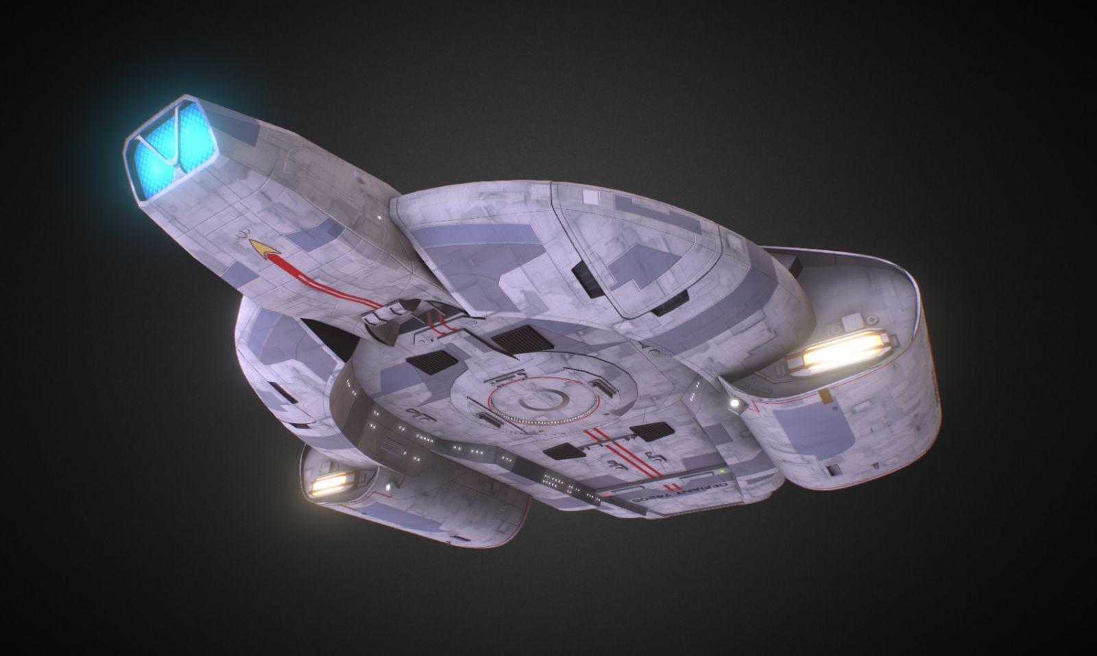 U.S.S. Defiant NX74205 - Deep Space Nine