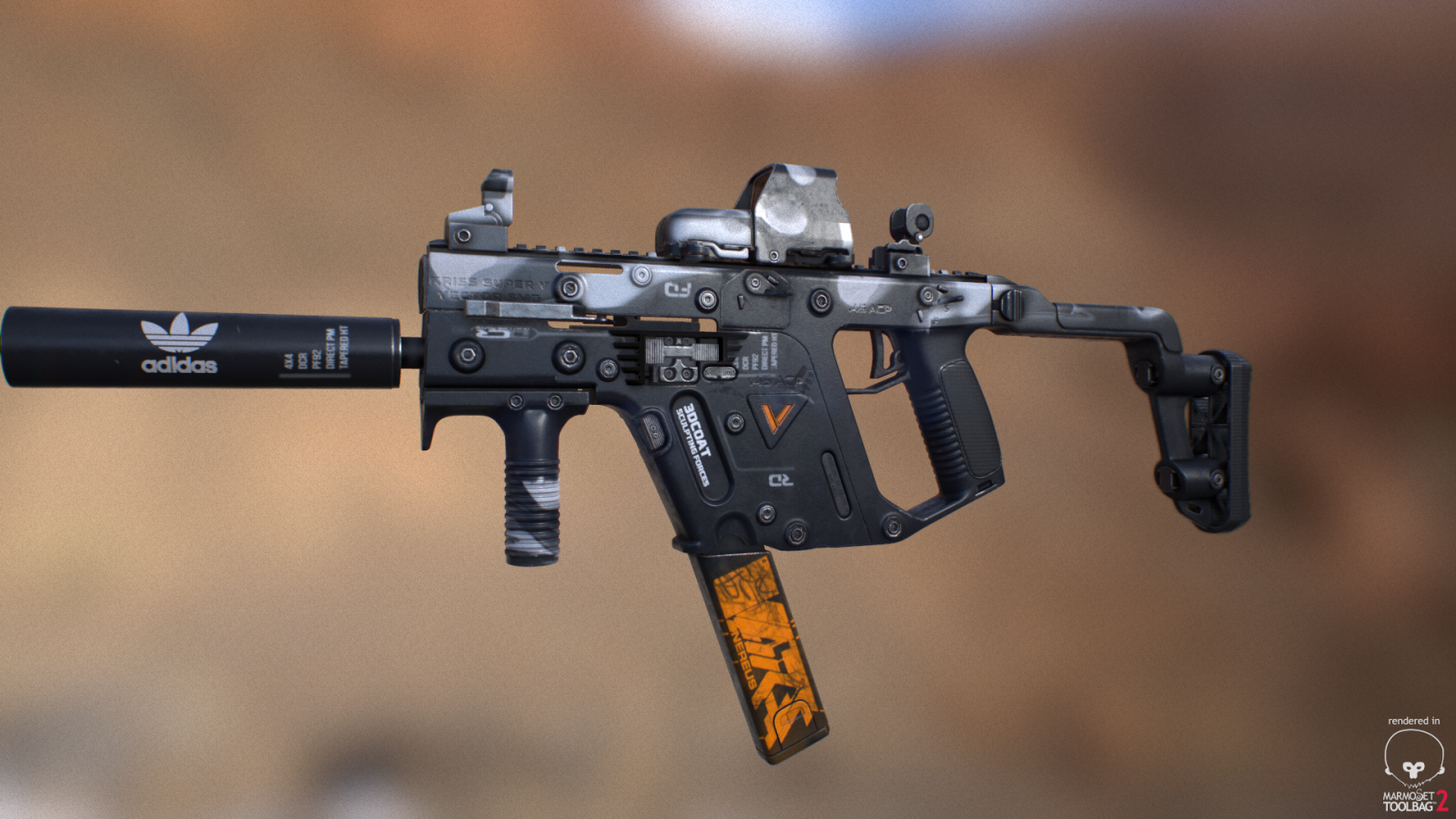 KRISS Super Vector Russian Mafia - Gallery of Finished Works - 3D
