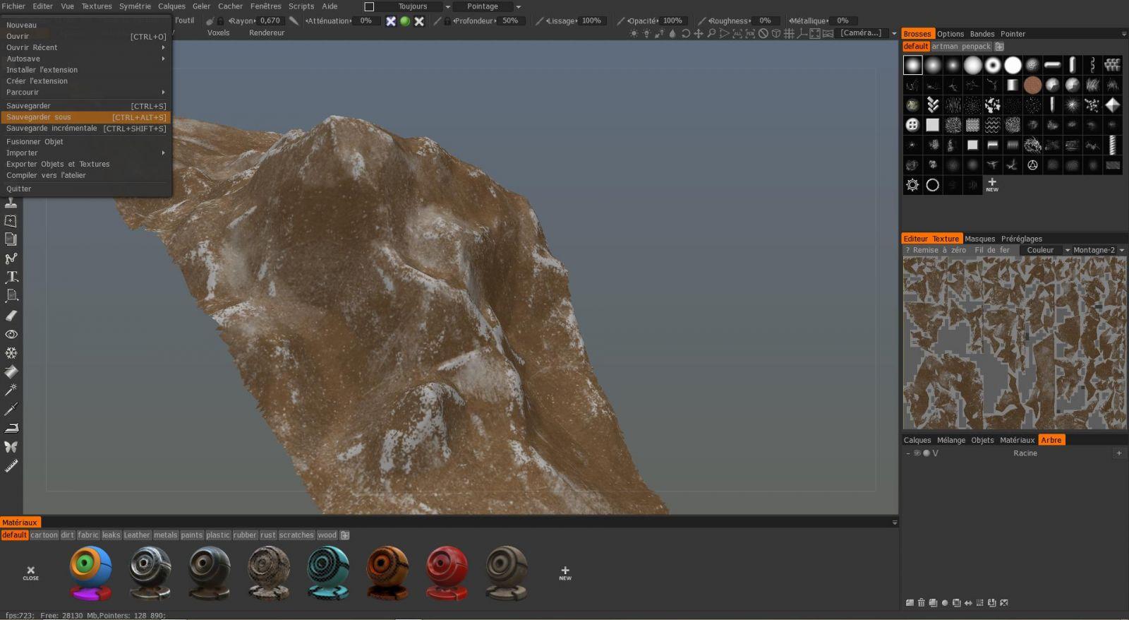Montagne Texture 1.3b