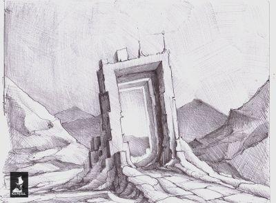 porte 1 Sketch 1