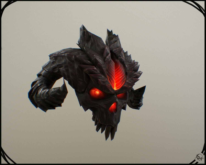 Diablo Skull