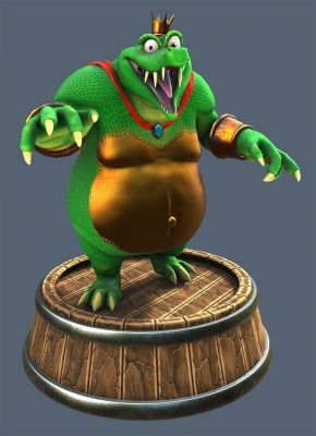 KRool Posing Barrel