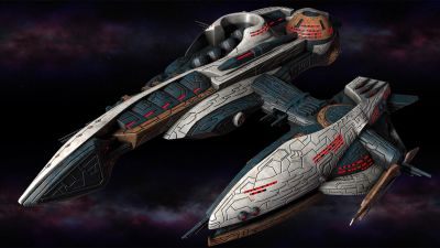 Polaris Sector. Gavakens Race. Frigate
