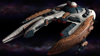 Polaris Sector. Gavakens Race. Destroyer