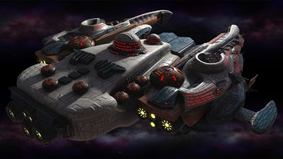 Polaris Sector game. Gavakens race. Transport