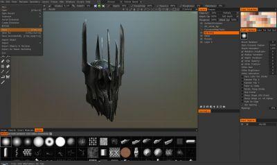 LOTR: Sauron's helmet