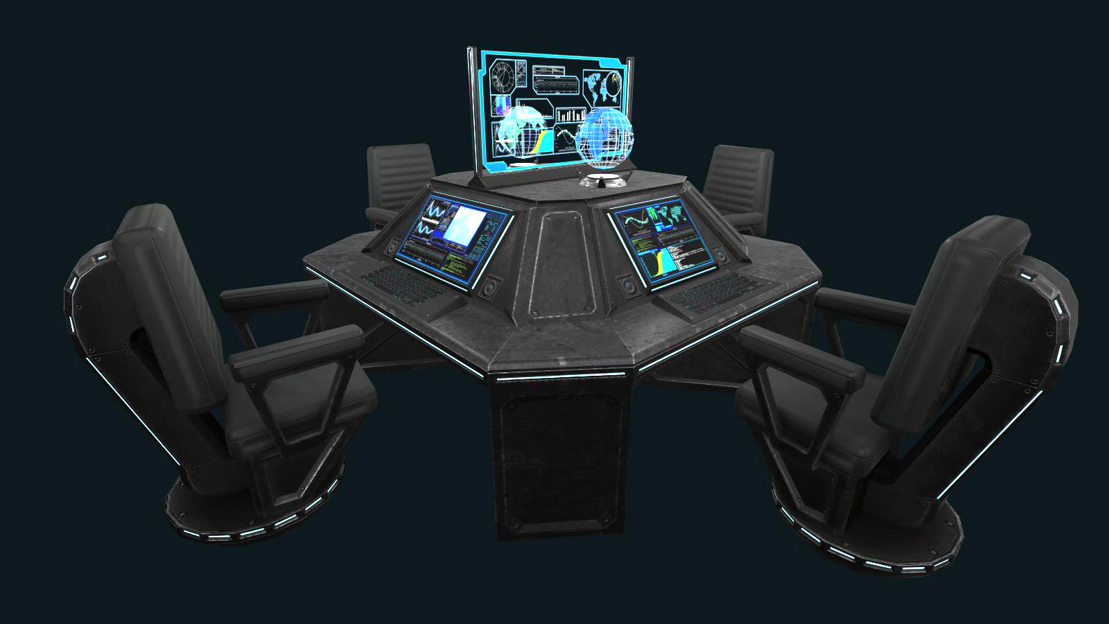 Sci-fi Communications Center