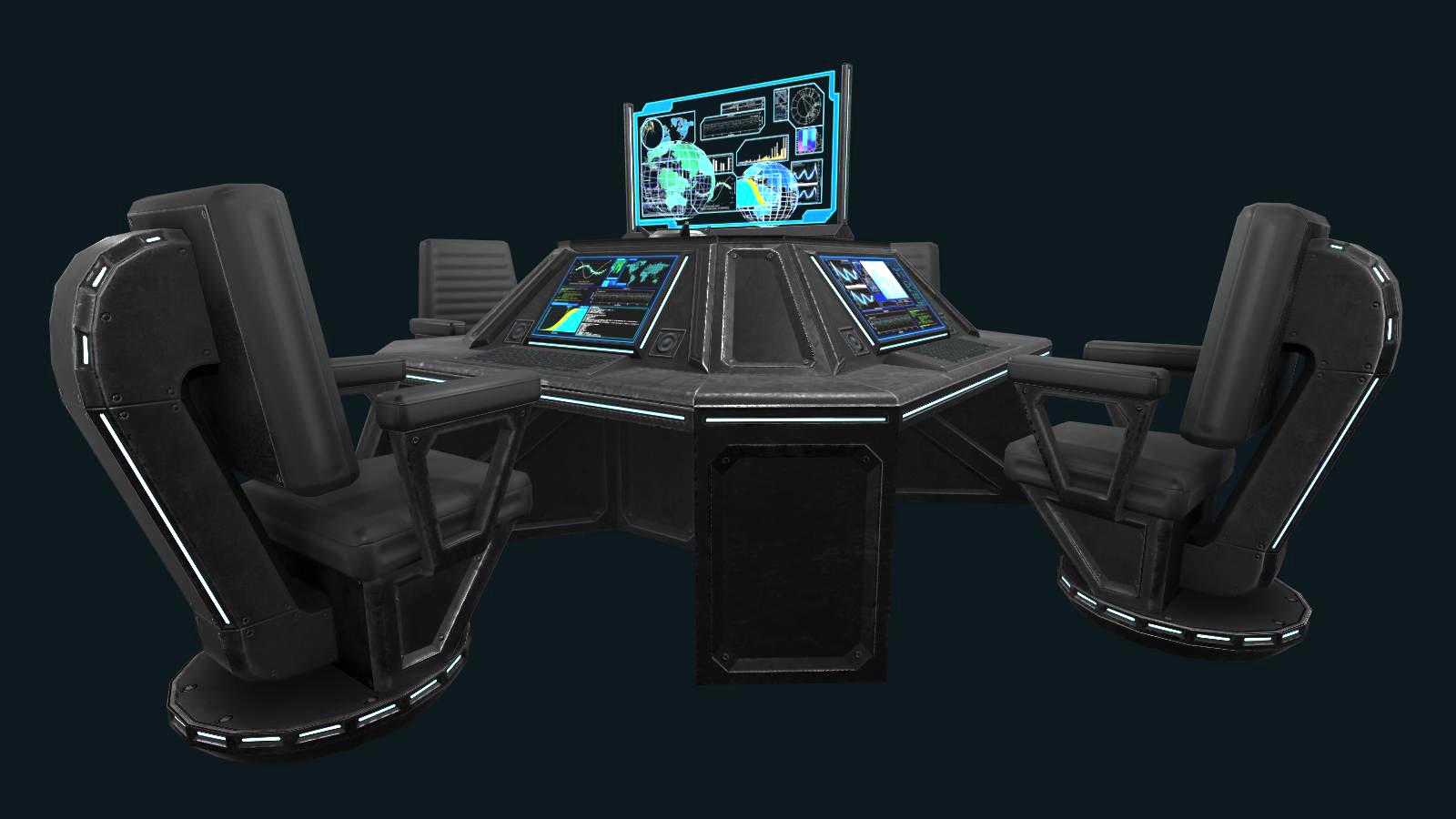 Sci-fi Communications Center