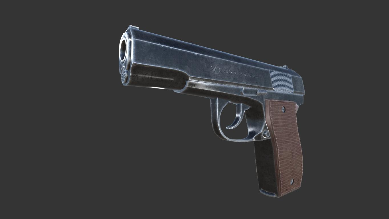Pistol - Gallery of Finished Works - 3D Coat Forums