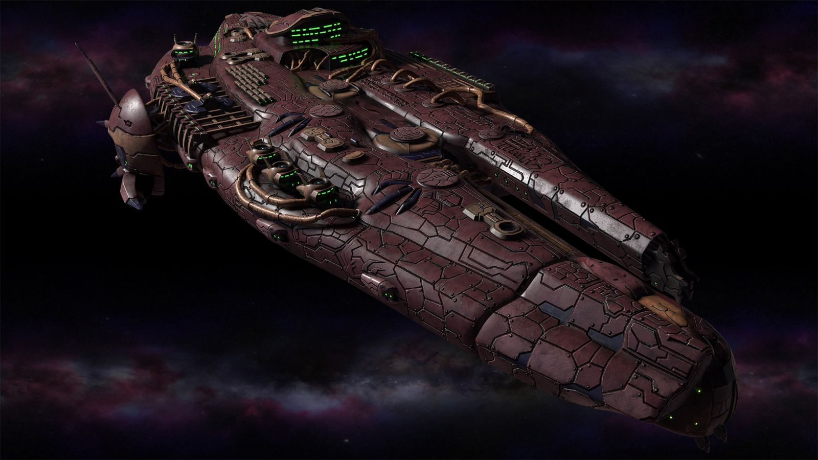 Polaris Sector game. Sharatars race. Destroyer