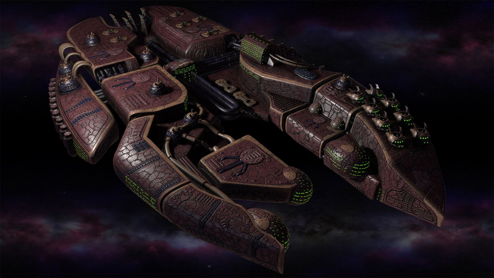 Polaris Sector game. Sharatars race. Dreadnought