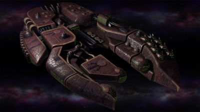 Polaris Sector game. Sharatars race. Dreadnought