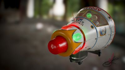 apollo_starship_tin_toy_masudaya_lights