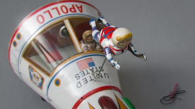 Apollo Starship Tin Toy (Masudaya)