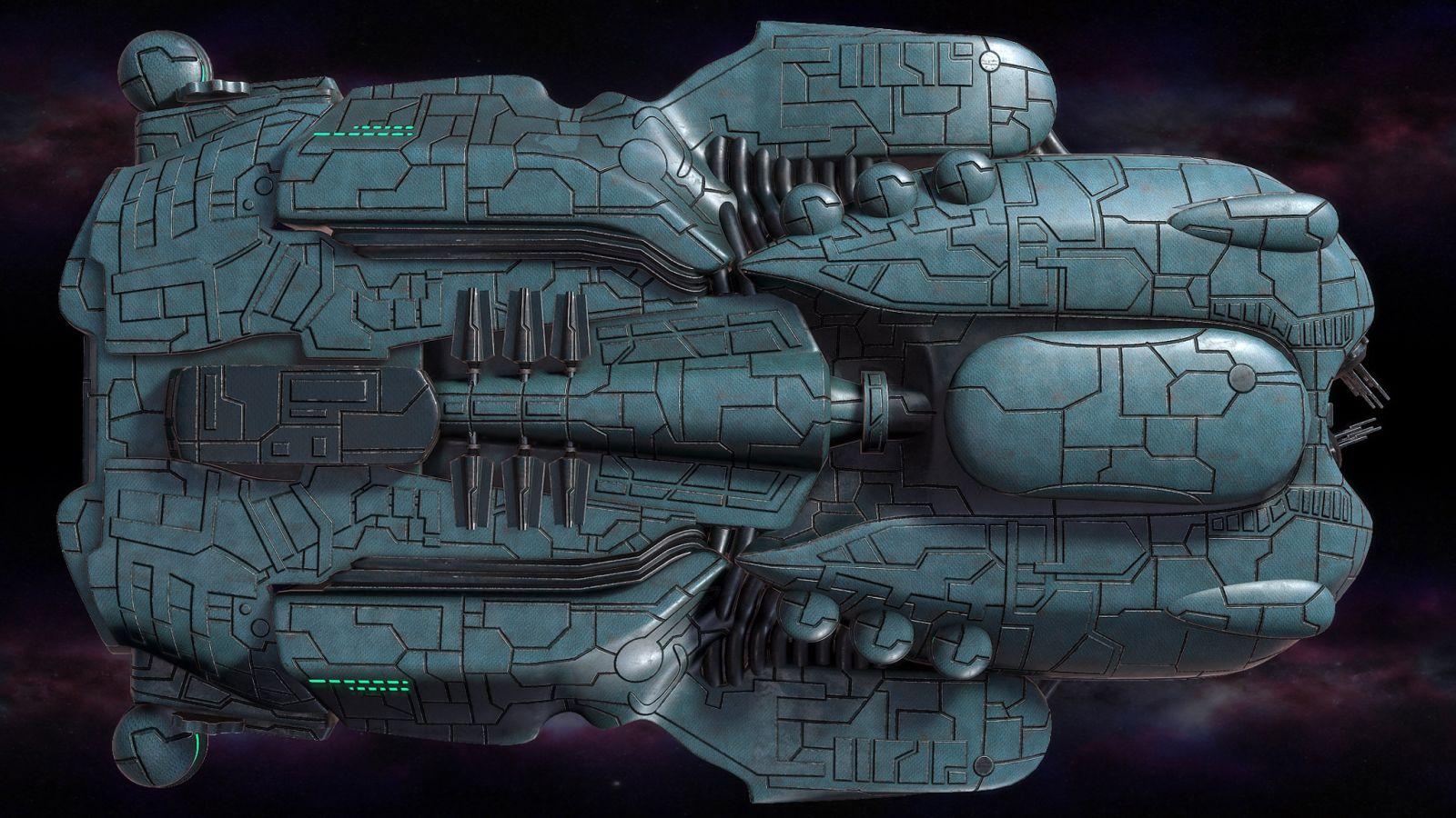 Polaris Sector game. Eriances race. Corvette