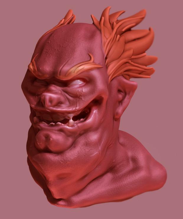 First 3D sculpt
