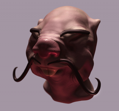 Second sculpt in 3D Coat
