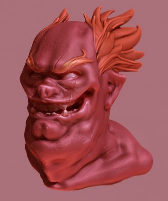 First 3D sculpt