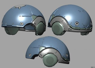 Sculpting helmet tutorial with 3d-coat
