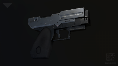 Sci Fi pistol