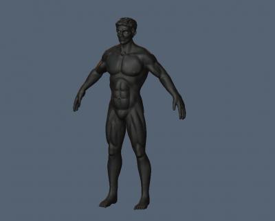 Man sculpt