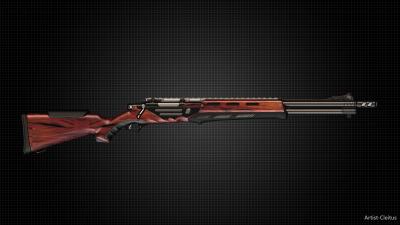 Futuristic heavy rifle.rv.2