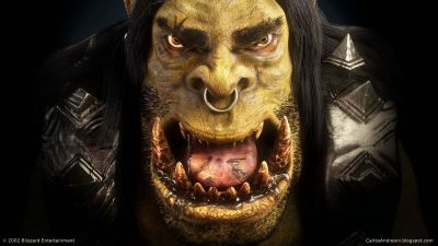 Warcraft 3 Orc fan art tribute