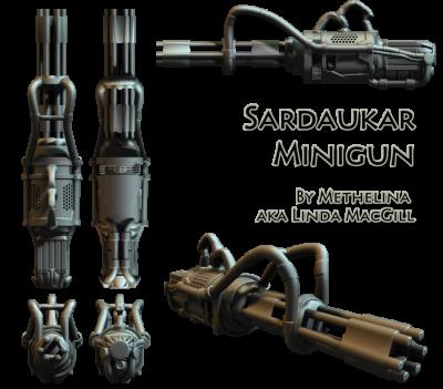 Sardaukar's minigun