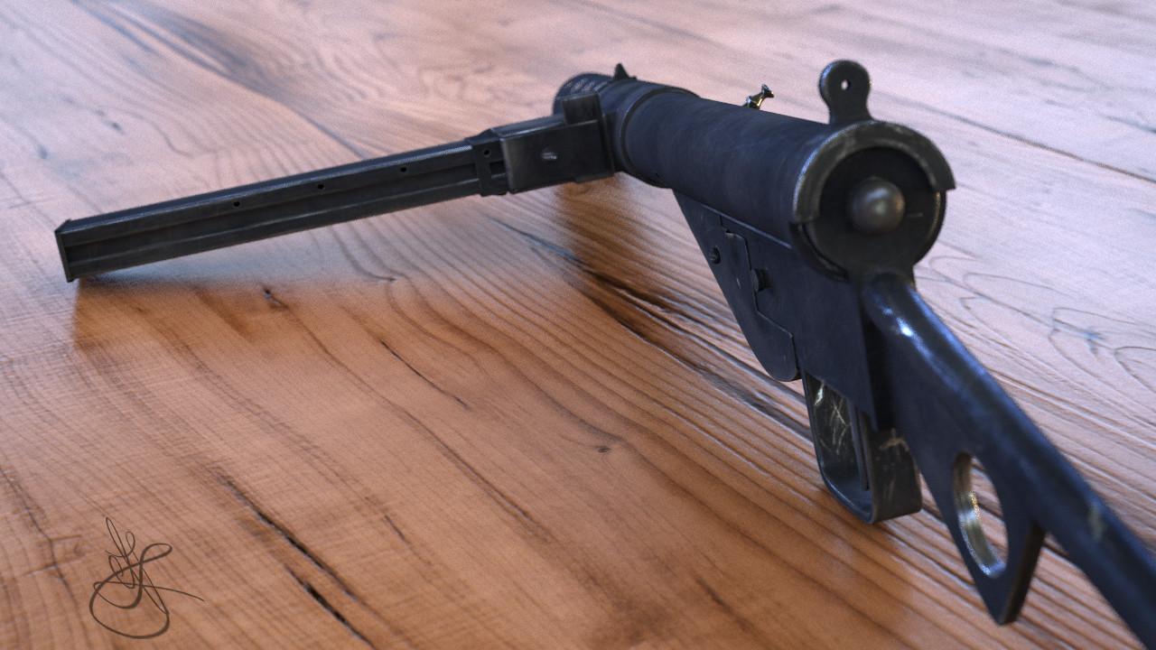 Sten Mk II (2)