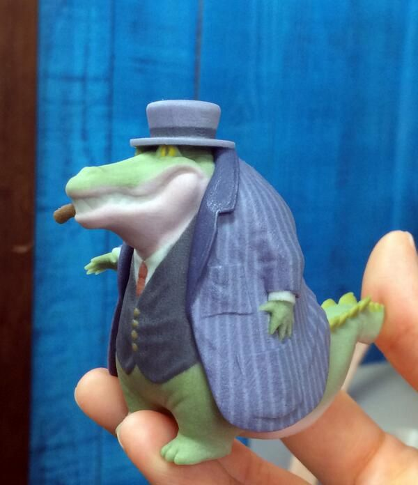 Mafian alligator 3D print
