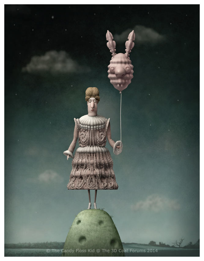 The Lady And The Strange Balloon