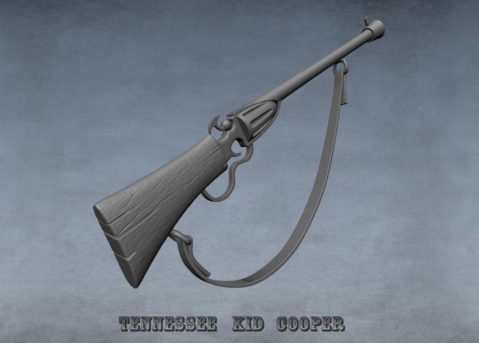 WIP sculpt Tennessee Kid cooper Gun