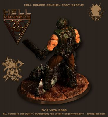 HR Ranger PreviewPic 010 ColonelCrayStatue 004 Hell Rangers RKE