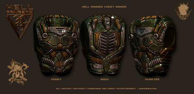 HR Ranger PreviewPic 003 ArmorChestArmorPainted Hell Rangers RKE