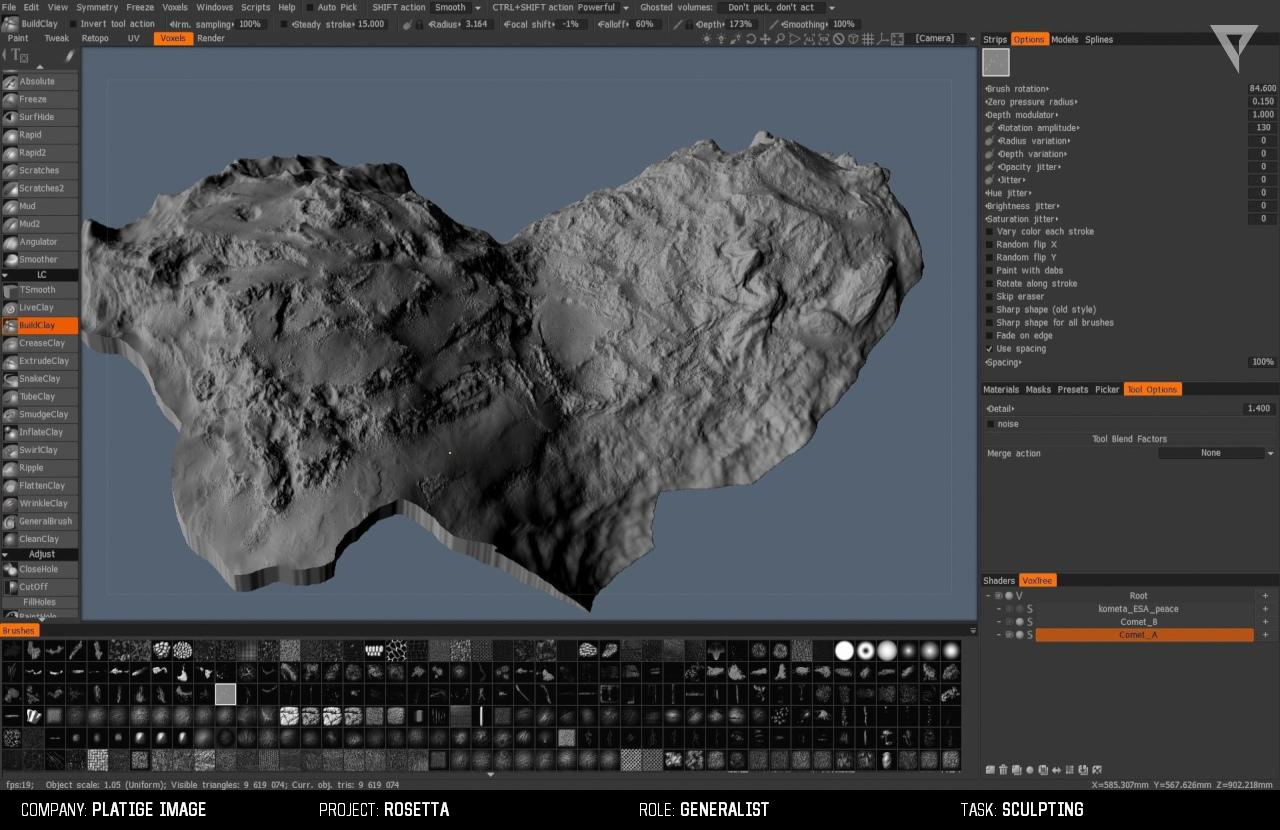 comet PI 05