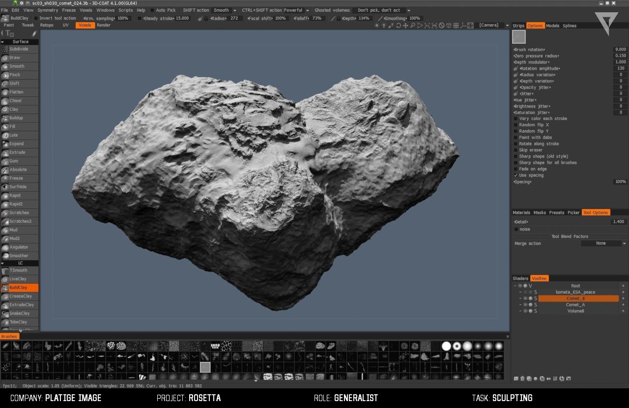 comet PI 10