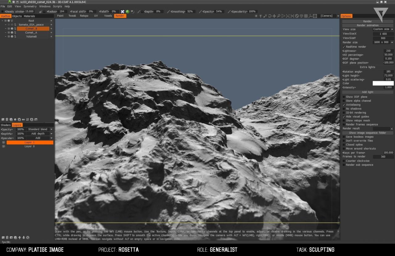 comet PI 12