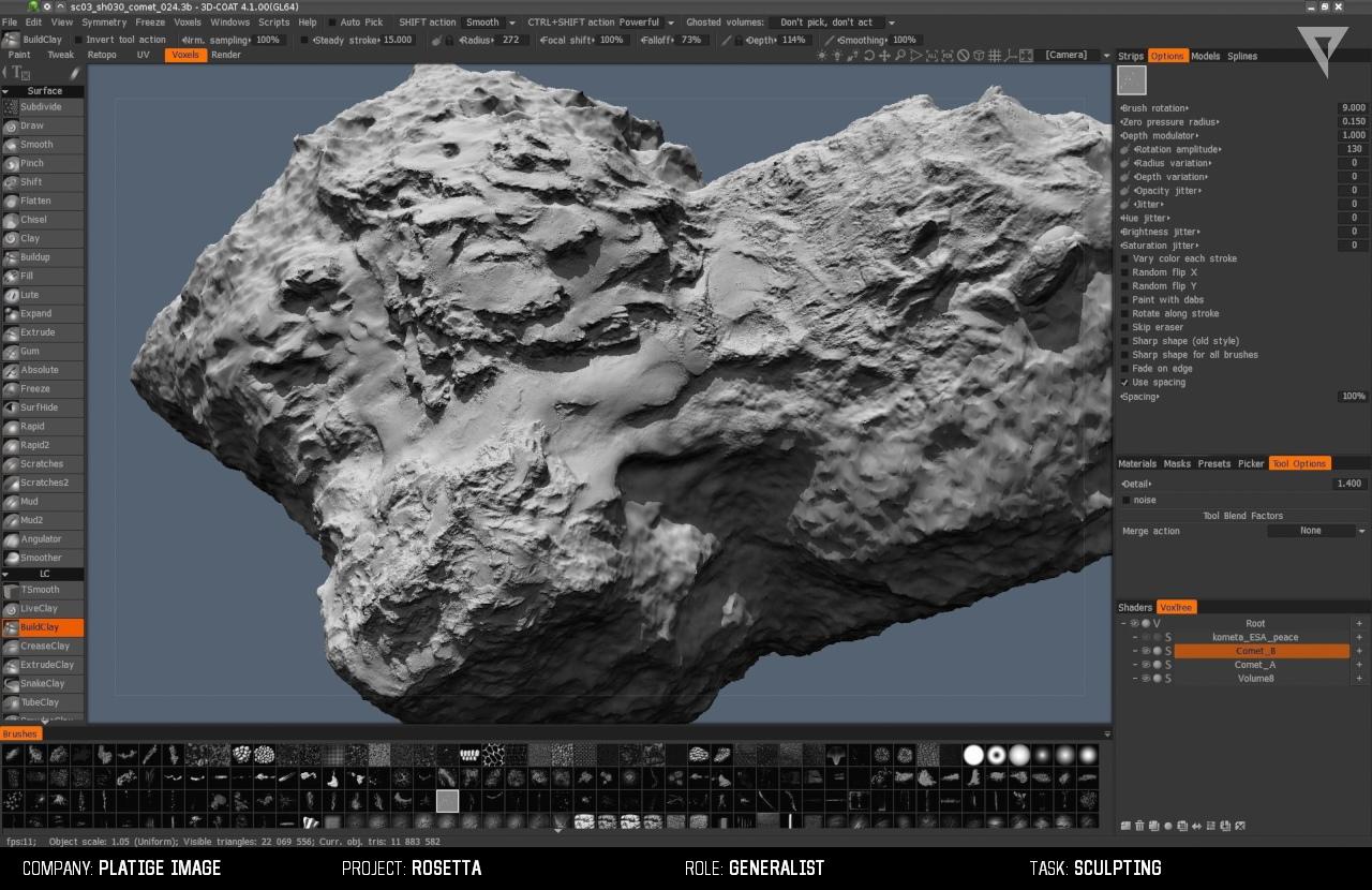 comet PI 11