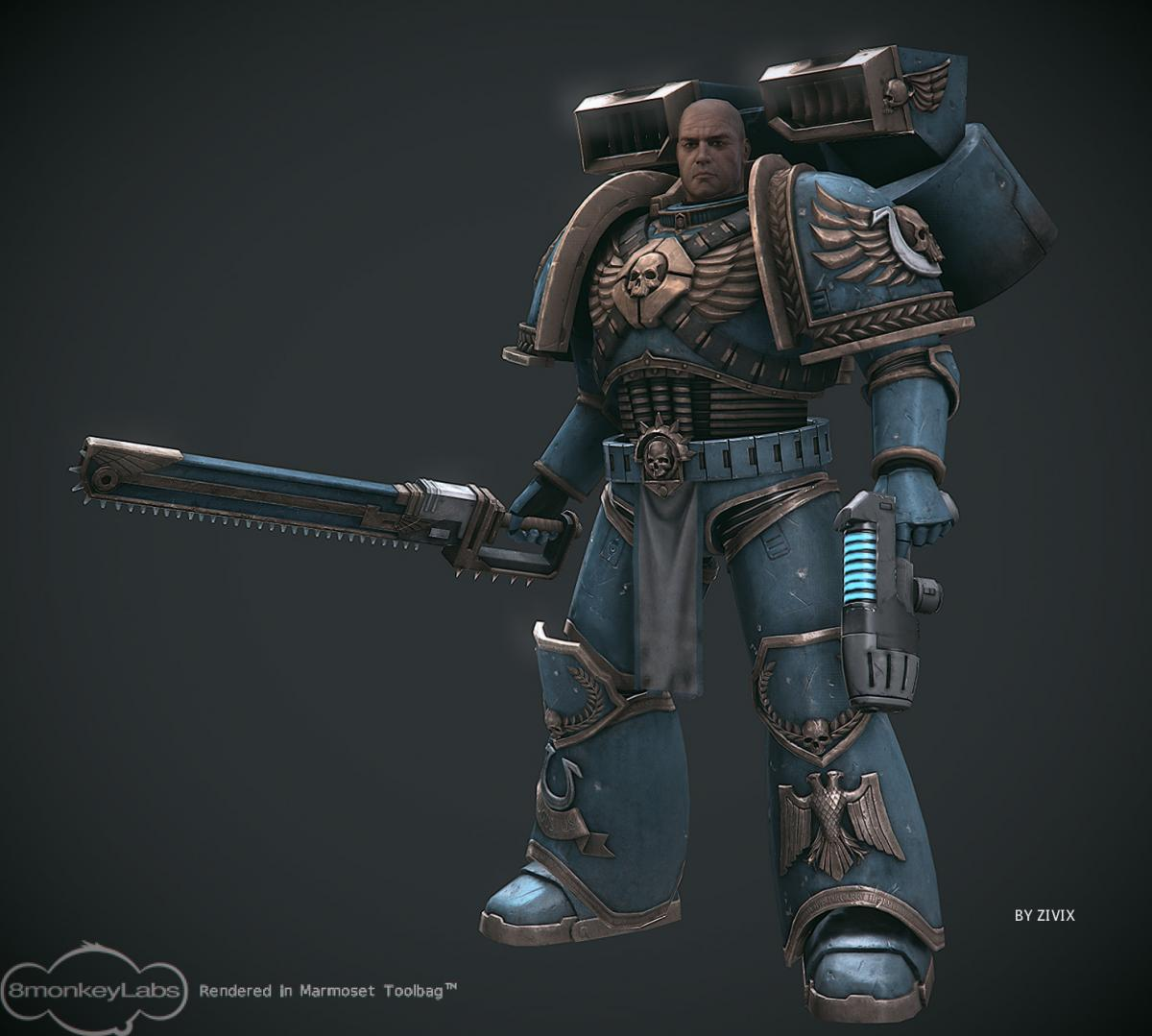 warhammer 40k in game model - Archived: Gallery of Finished Works