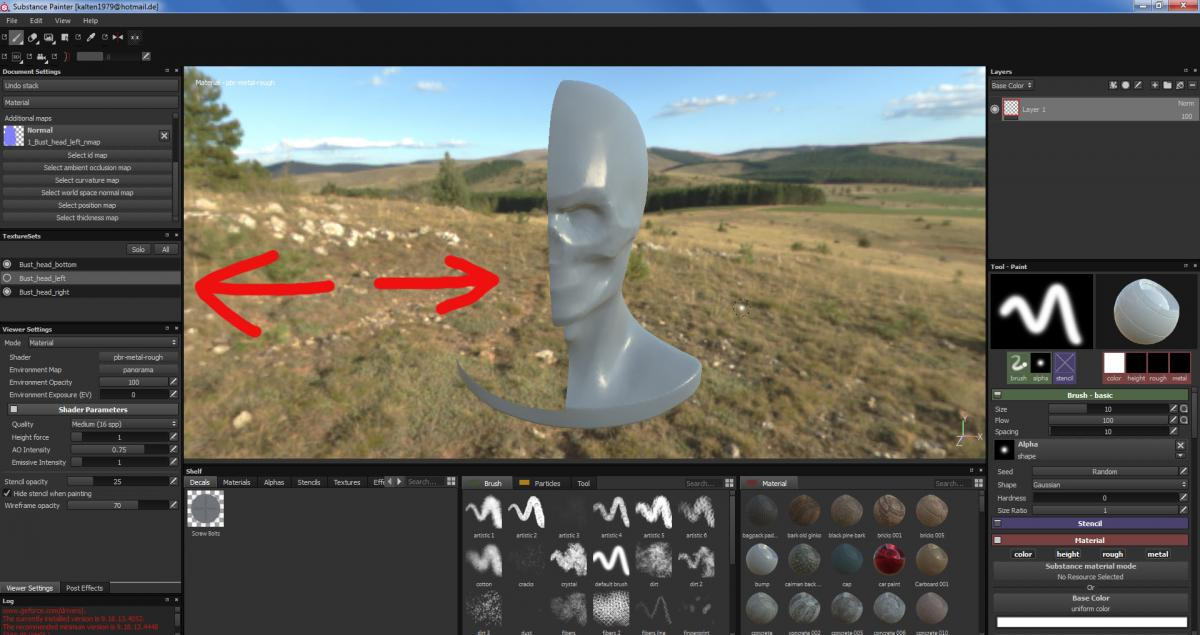 Export to Substance Painter with Texture Sets? - 3DCoat - 3D